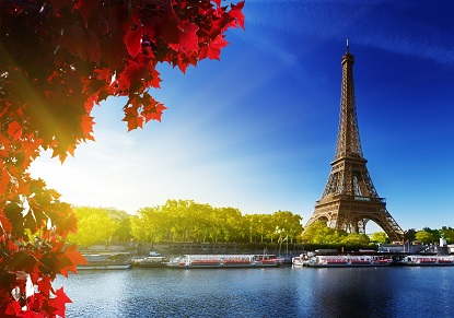Celebrate Paris with Champagne Lunch Cruise on the River Seine (Escorted from London)