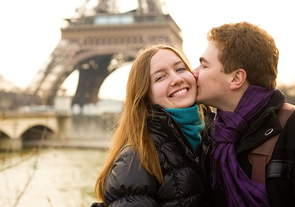 Romantic Paris - Fully Escorted Tour with Champagne Lunch on the Eiffel Tower