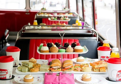 B Bakery Afternoon Tea Bus