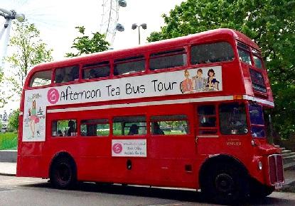 B Bakery Afternoon Tea Bus