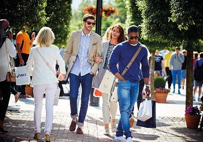 Bicester Village Shopping by Train