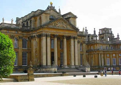 Blenheim Palace, Downton Abbey Village & the Cotswolds (Japanese)