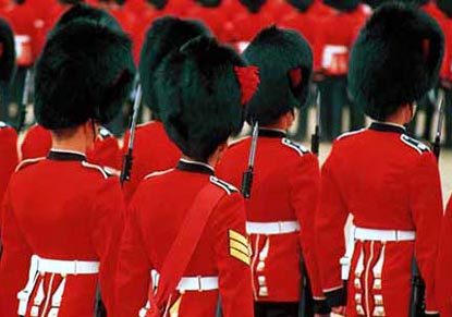 Royal London with Changing of the Guard