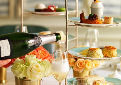 Fortnum & Mason Champagne Afternoon Tea