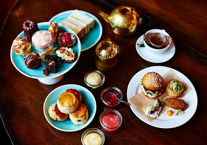 Jamie Oliver's Barbecoa Afternoon Tea for Two