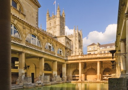Windsor Castle, Stonehenge & Bath (French)