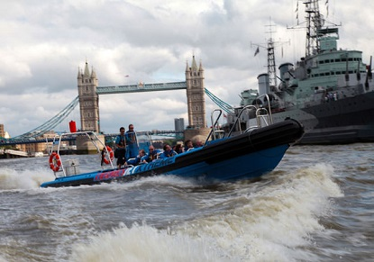 Thamesjet - London's Aquabatic Adventure
