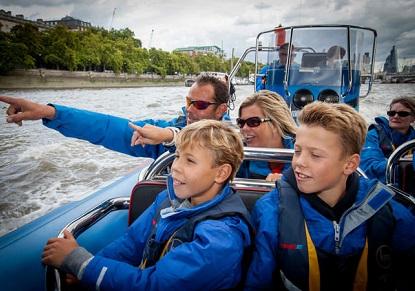 Thamesjet - London's Aquabatic Adventure