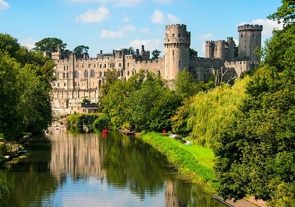Warwick Castle, Oxford & the Cotswolds (Portuguese)